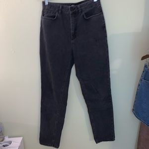 UO black Mom Jeans